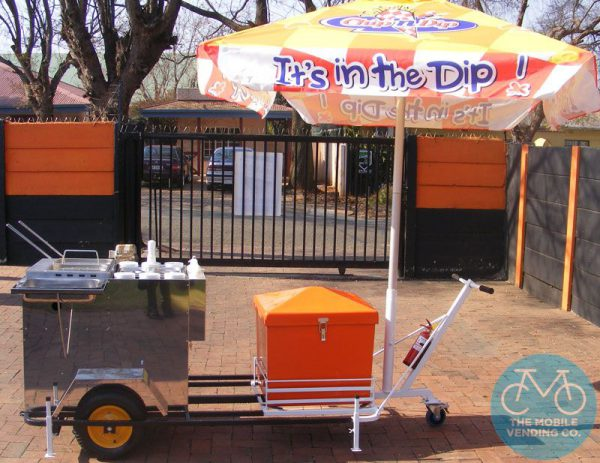 Chip Dip Push-Cart