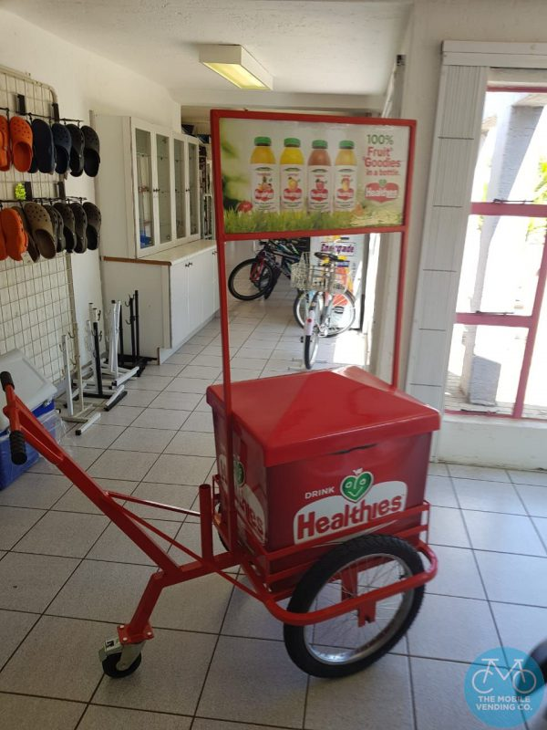 Cold Beverage Push-Cart