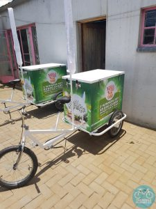 Cool On-Tap Beverage Tricycle