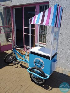 Milky Lane Ice-Cream Tricycle