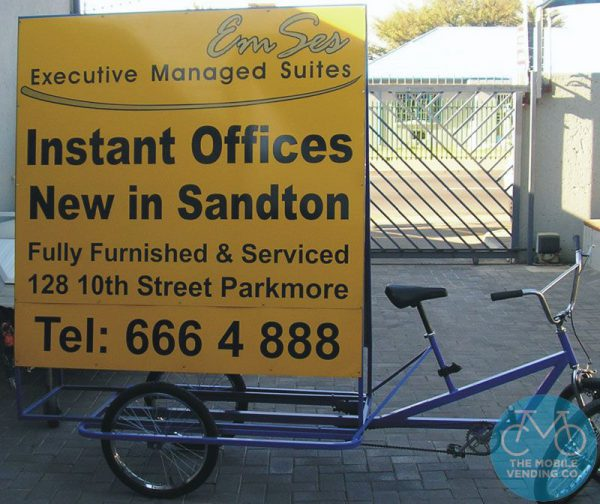 Signage Tricycle For Mobile Advertising