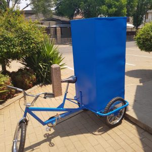 Tricycle with Mobile Utility Box Attachment